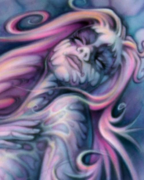 Airbrush Mermaid Detail