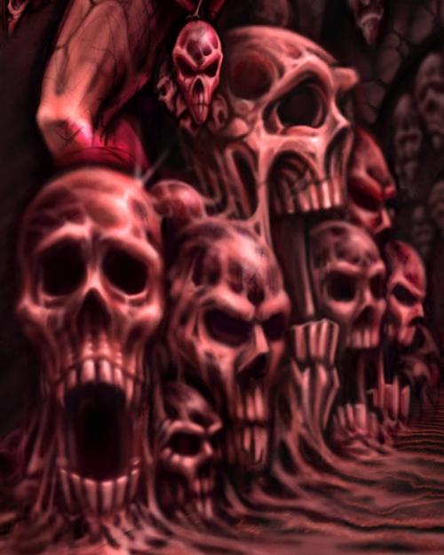 necropolis skulls