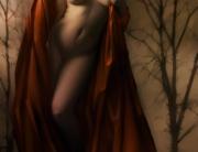 Nude Little Red Ridding Hood by David Bollt