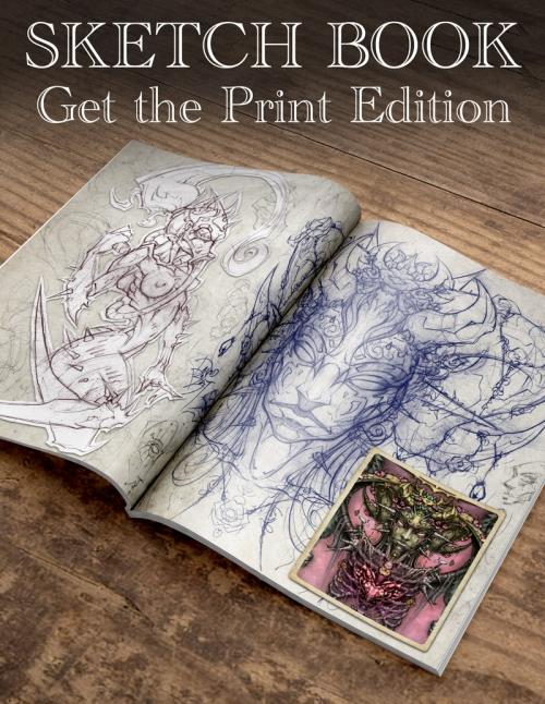 David Bollt sketchbook print edition